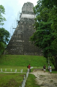 A temple in Tikal
