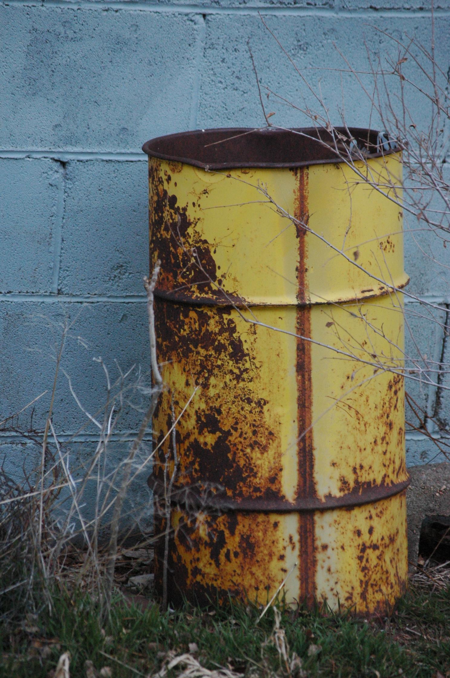 Old oil barrel - Safe Haven Farm, Haven, KS