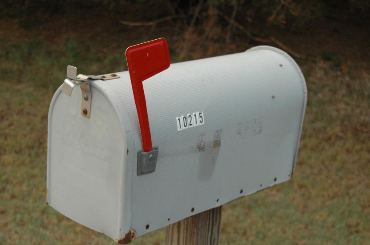 Mailbox - Safe Haven Farm, Haven, KS