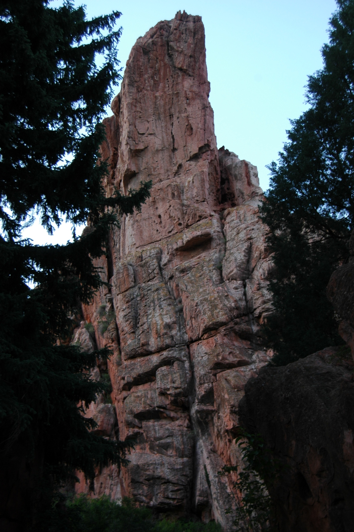 Red rocks at Glen Eyrie - Colorado Springs, CO