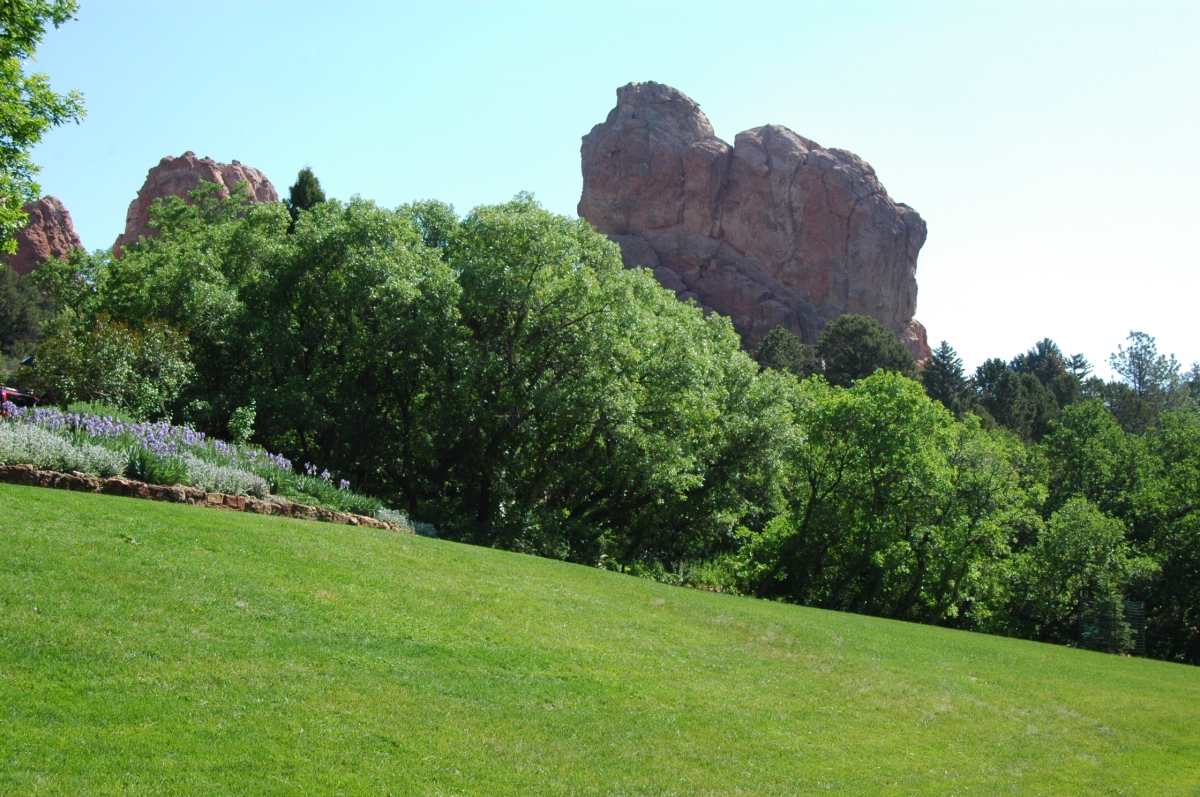The view at Glen Eyrie - Colorado Springs, CO