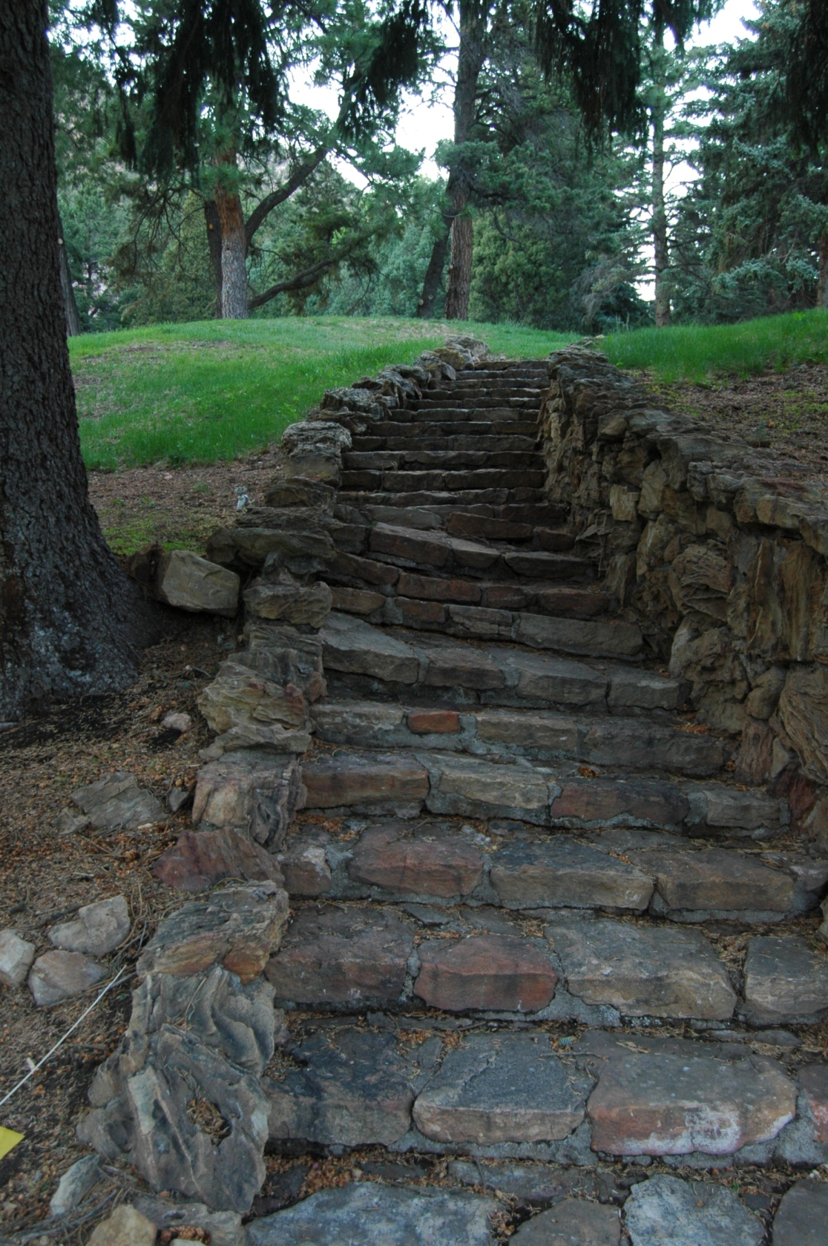 Stone path at Glen Eyrie - Colorado Springs, CO