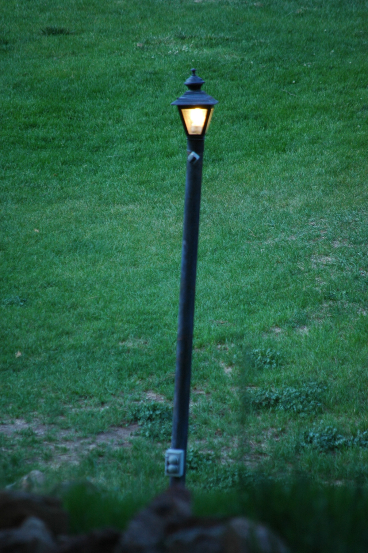 Lamp post at Glen Eyrie - Colorado Springs, CO
