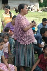 Q'eqchi woman - Peten, Guatemala