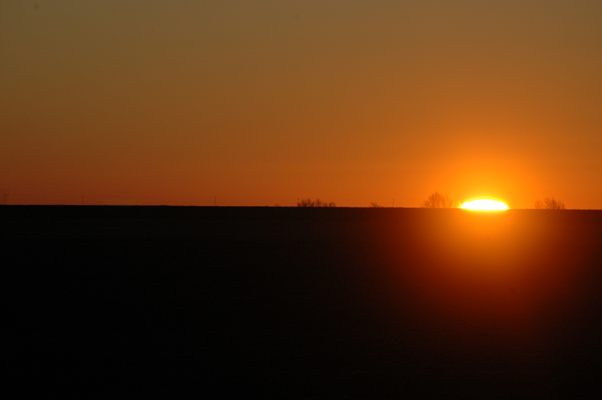 Sunrise at Safe Haven Farm - Haven, KS