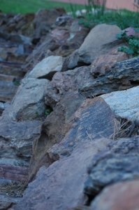 Rocks on the path at Glen Eyrie - Colorado Springs, CO