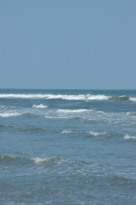 Waves in the Gulf of Mexico from Jamaica Beach - Galveston, TX