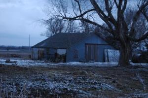 The barn at Safe Haven Farm, Haven, KS