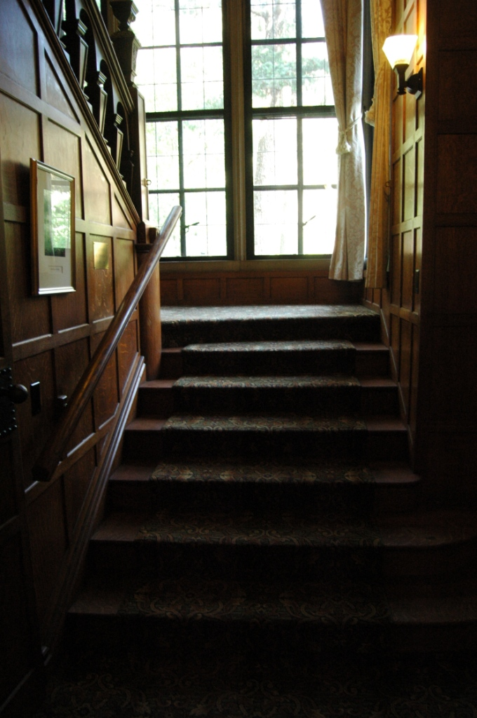 Stairwell in Glen Eyrie Castle, Colorado Springs, CO