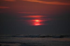 Sunrise on Jamaica Beach, Galveston, TX