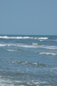 Waves on Jamaica Beach, Galveston, TX