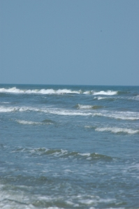 Waves on Jamaica Beach, Galveston, TX