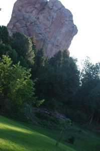 The grounds at Glen Eyrie, Colorado Springs, CO