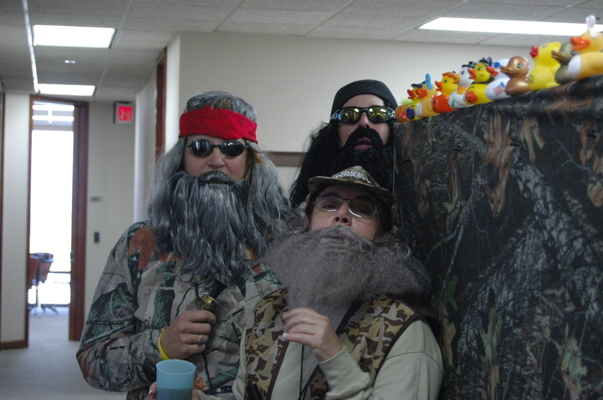 The three Duck Dynasty amigos (or amigas, more accurately), Wichita, KS
