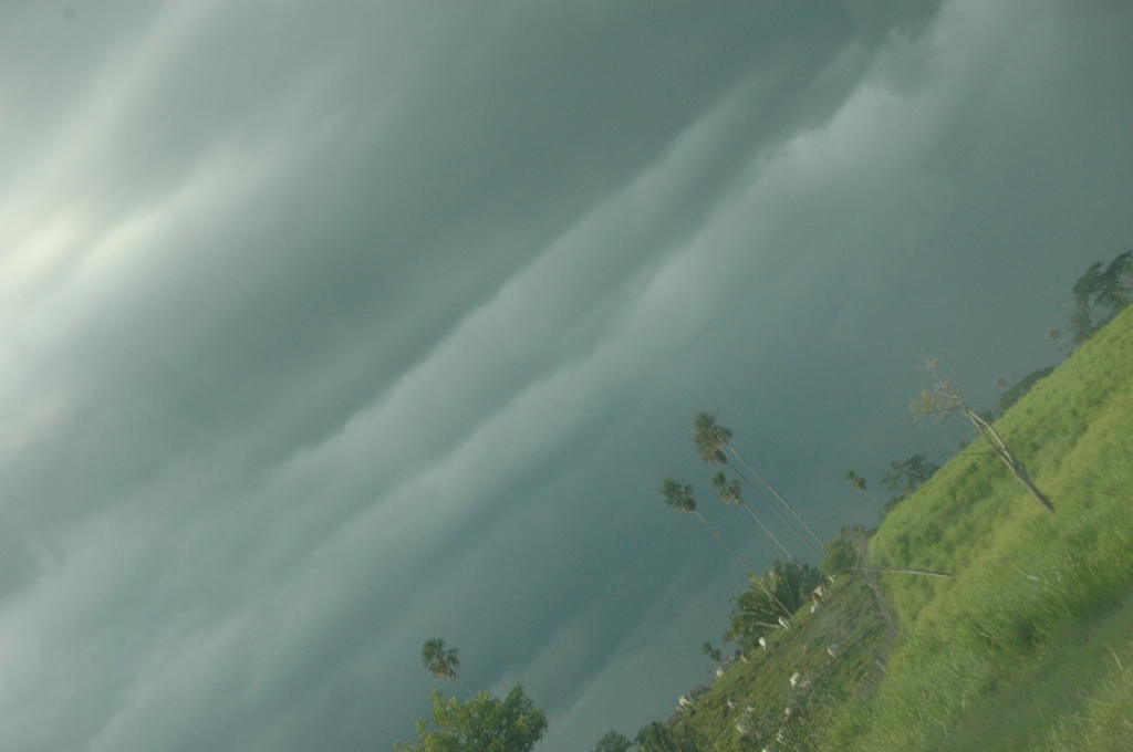 Storm clouds in Guatemala, Peten, Guatemala