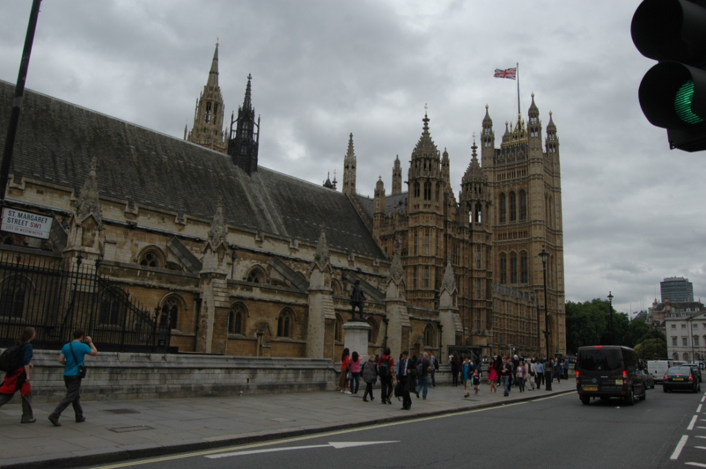 The Houses of Parliament, London, England