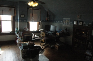My home office at Safe Haven Farm, Haven, KS