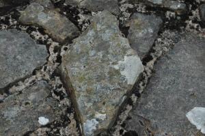 Stones of Hadrian's Wall, North England, United Kingdom