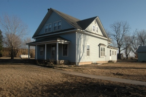 The old house at Safe Haven Farm, Haven, KS