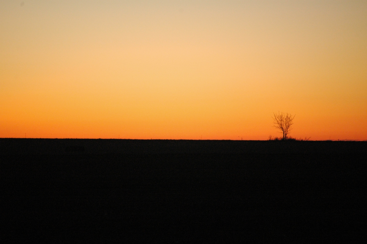 Sunrise at Safe Haven Farm, Haven, KS