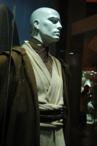 A Jedi costume from the Star Wars exhibit at Exploration Place, Wichita, KS