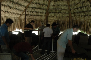 Ministry team assembled from the US and Guatemala to reach the Kekchi, Peten, Guatemala