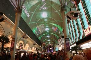 Fredmont Street light show, Las Vegas, NV