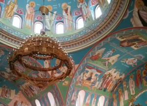 The ceiling at St. George Orthodox Cathedral, Wichita, KS