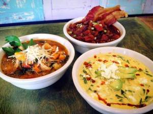 Amazing, beautiful, tasty soups from the incredible Tanya's Soup Kitchen in Wichita, KS